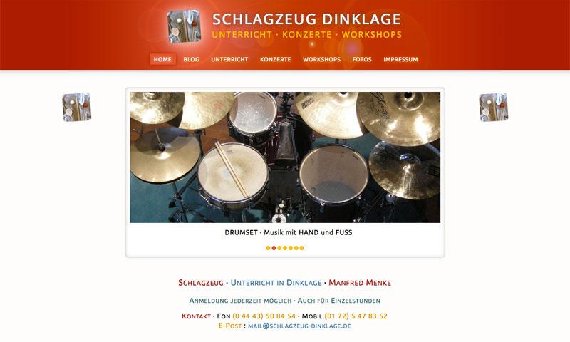 Schlagzeug Dinklage · 2012 bis 2014