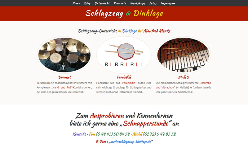 Schlagzeug Dinklage · 03. Dezember 2014