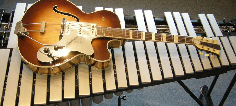Gitarre und Vibraphon