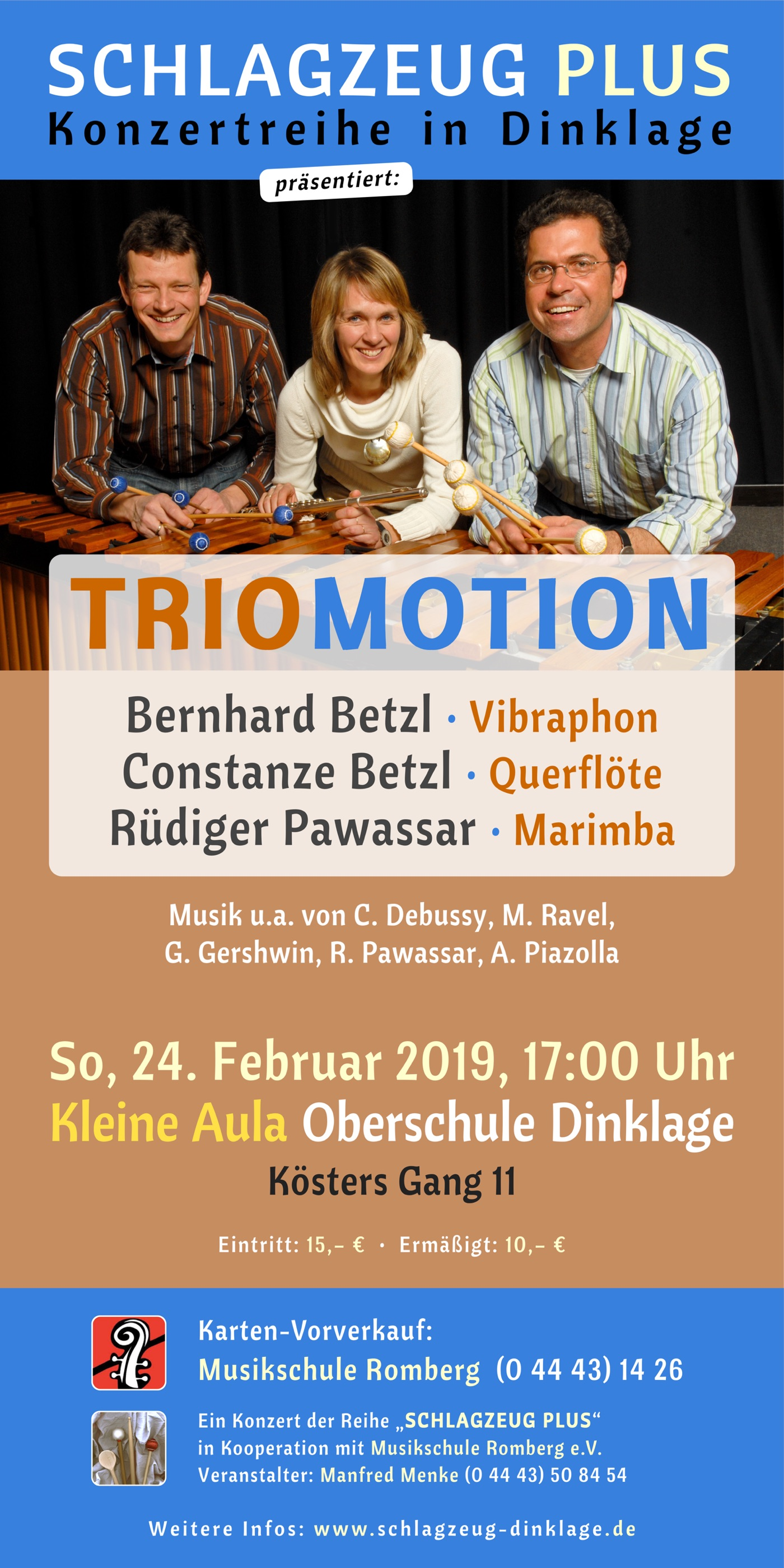 Flyer · TRIOMOTION · 24. Februar 2019