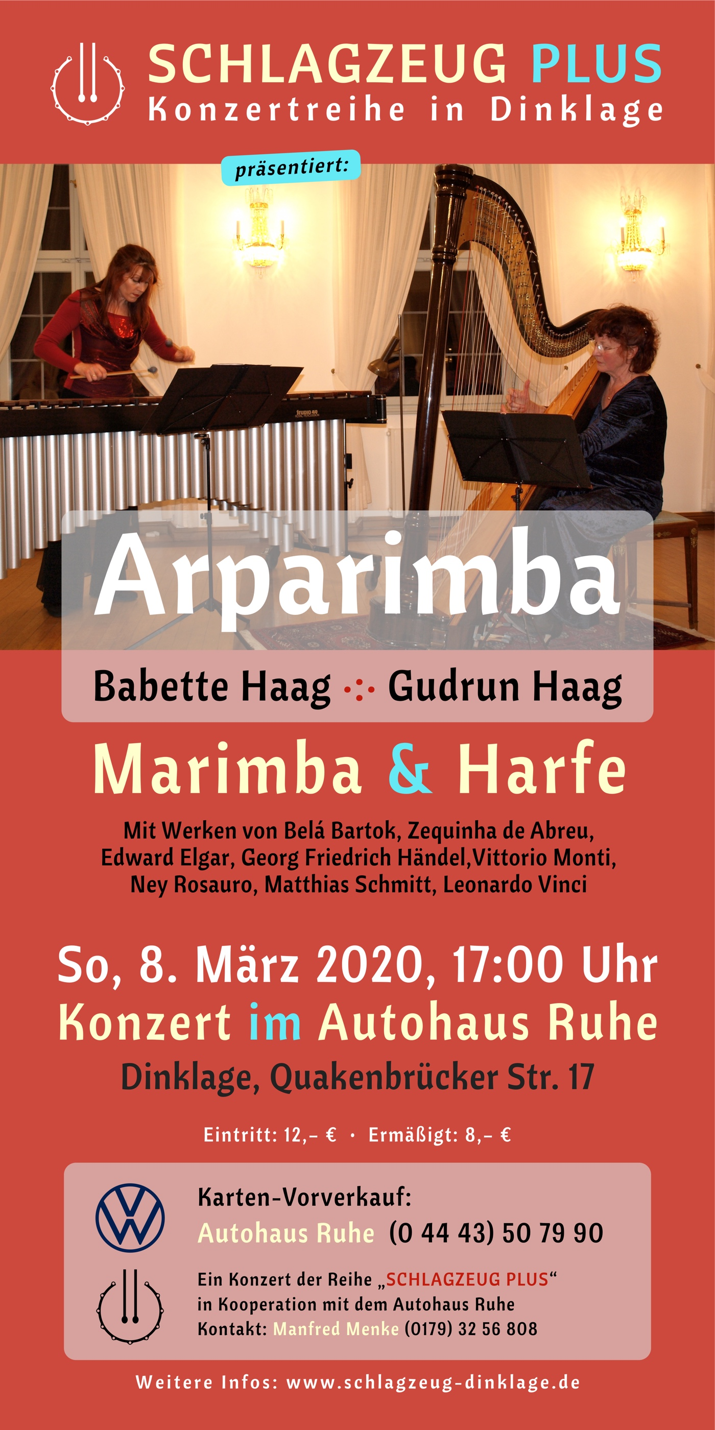 Flyer · Arparimba · 8. März 2020