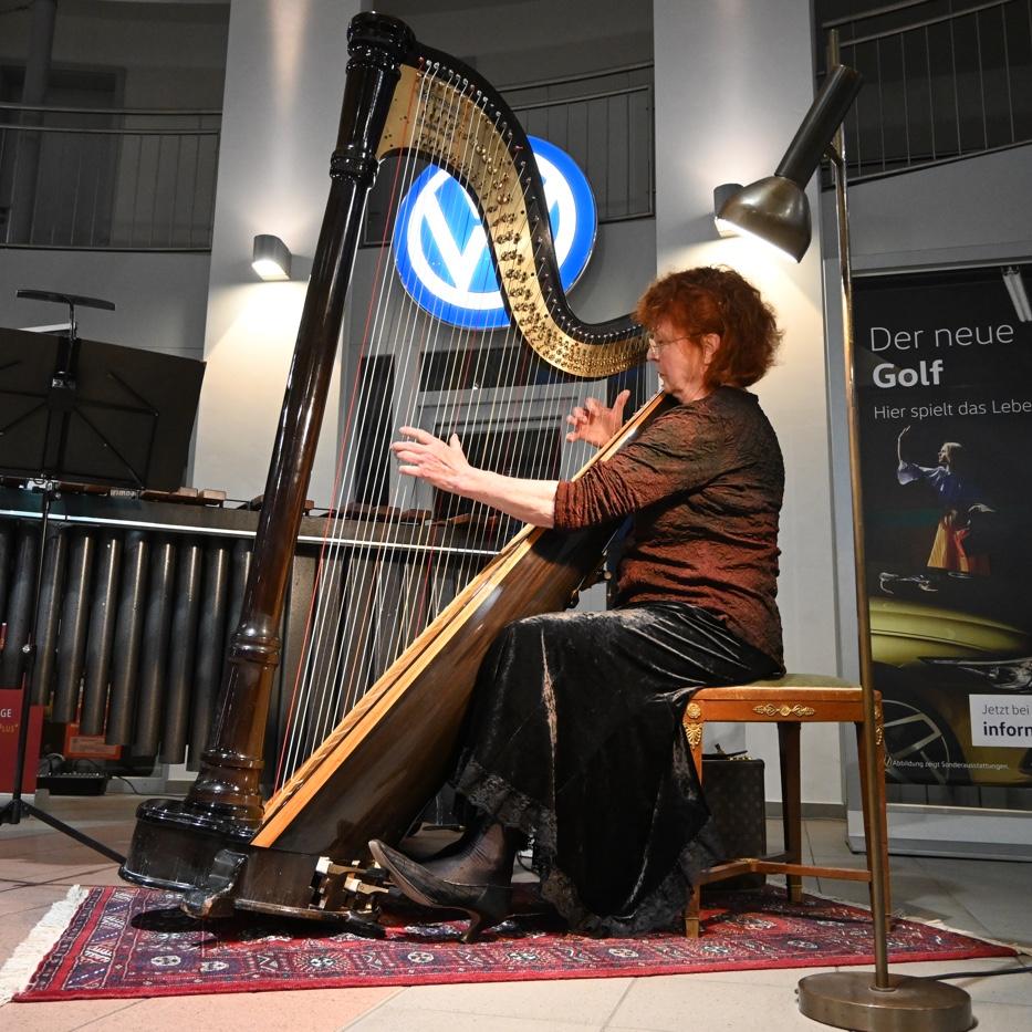ARPARIMBA · La Source · Harfe-Solo Gudrun Haag