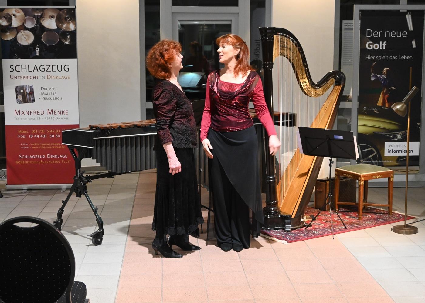 Musikerfamilie Haag · Mutter und Tochter