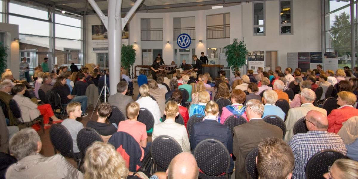Marimba-Festiva-Quartett im Weinhaus Bücker