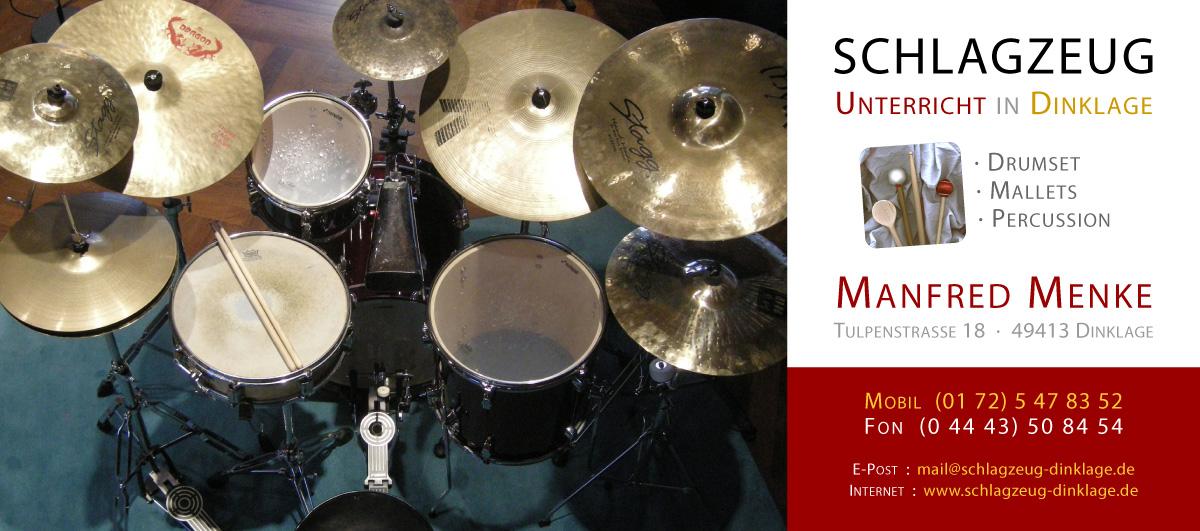 Schlagzeugunterricht in Dinklage