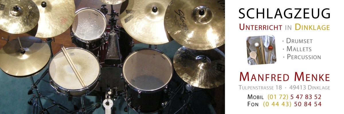 Schlagzeug-Unterricht in Dinklage